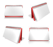3d spring memo paper array Royalty Free Stock Images