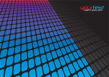 3D Squares Grid Layout Royalty Free Stock Photography