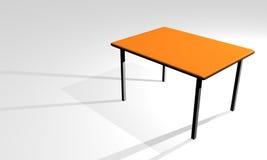 3d stół ilustracja wektor