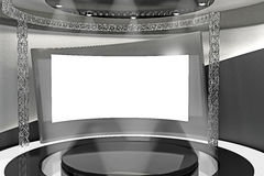 3d Stage Stock Photo