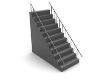 3d stairs Stock Images