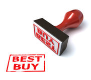 3d stamp best buy Stock Image