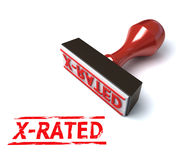 3d stamp x-rated Stock Images