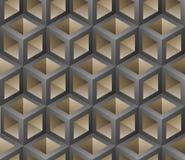 3D stapel naadloos patroon Royalty-vrije Illustratie