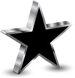 3d star. On white background Stock Images