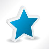3d star Stock Image