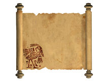 3d stara pergaminowa ślimacznica Obraz Stock