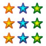 3D Stars Stock Photo