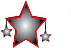 3D Stars Hintergrund Stockfoto