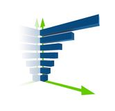 3d statistics royalty free stock photography