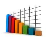 3d statistics Stock Image