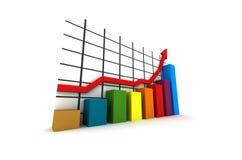 3d statistics stock photo