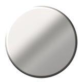 3D Steel Circular Button Stock Photography