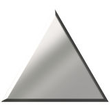 3d Steel Triangle Stock Images