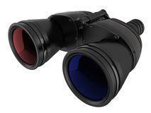 3D Stereo Binoculars Stock Photos