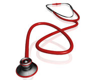 3d Stethoscope Stock Images