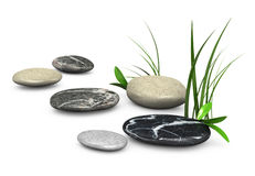 3d stones Royalty Free Stock Photography