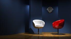 3D studio for two stock illustration