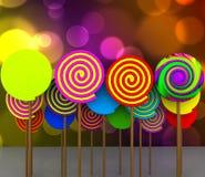 3D suikergoed - Stock Fotografie