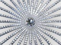 3D sumário asteca - diamantes flor e brisa Imagem de Stock Royalty Free