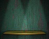 3d svuotano la mensola per l'esposizione. Immagine Stock