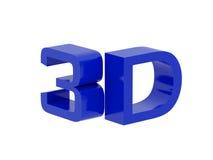 3d symbol Obrazy Royalty Free