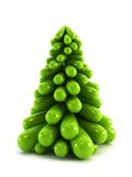 3d symbolic Christmas tree Stock Photos