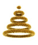 3d symbolic Christmas tree Stock Image