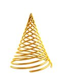 3d symbolic Christmas tree Royalty Free Stock Photo