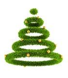 3d symbolic New Year's tree Royalty Free Stock Photos
