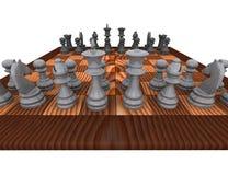 3d szachy Obrazy Stock