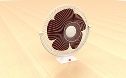 3d table fan Royalty Free Stock Photography