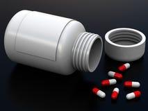 3d tabletten Stock Foto