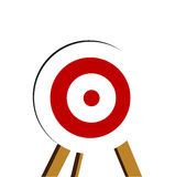 3d target Stock Images