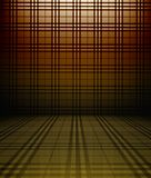 3d tartan wall Royalty Free Stock Images