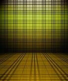 3d tartan wall Stock Image