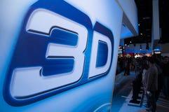 3d technologie bij de markt van de photokinafoto Stock Afbeeldingen