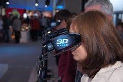 3d technologie bij de markt van de photokinafoto Royalty-vrije Stock Fotografie