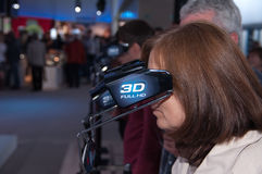 3d technology at photokina photo fair Royalty Free Stock Photography