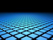 3D Tegels met Copyspace Stock Afbeelding