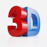 3D Tekst Stock Foto's