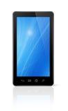 3D telefono mobile, pda isolato su bianco Immagini Stock
