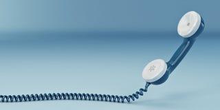3d telefonu odbiorca royalty ilustracja