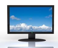 3D televisie, Stock Foto