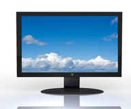 3D television, Stock Photo