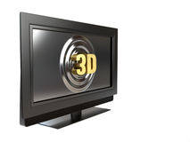 3D television Royalty Free Stock Photography