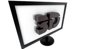 3d television Royalty Free Stock Image