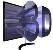 3D television Stock Images