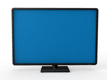 3d television lcd Royalty Free Stock Image