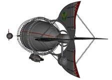 3D teruggegeven luchtschip Royalty-vrije Stock Afbeelding
